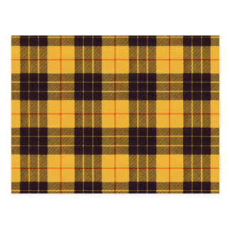 Macleod of Lewis & Ramsay Scottish Tartan Postcard