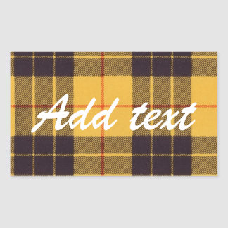Macleod of Lewis & Ramsay Scottish Tartan Sticker