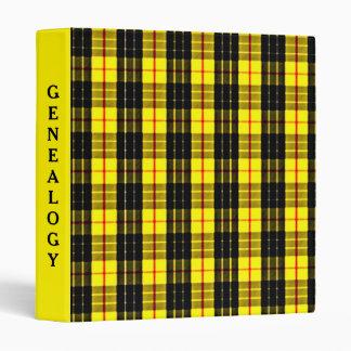 MacLeod Scottish Clan Tartan 3 Ring Binders
