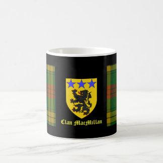 MacMillan Tartan Coat of Arms Coffee Mug