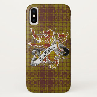 MacMillan Tartan Lion Case-Mate iPhone Case
