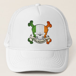 MacNamara Irish Skull Trucker Hat