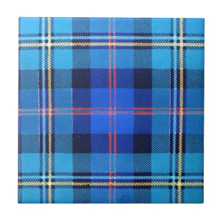 MACNAUGHTON SCOTTISH FAMILY TARTAN TILE