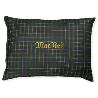MacNeil Clan Tartan Large Indoor Dog Bed