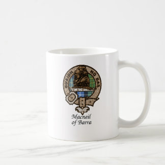 Macneil Of Barra Clan Crest Coffee Mug
