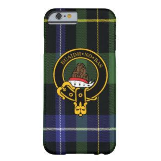 Macneil Scottish Crest and Tartan iPhone 6 case
