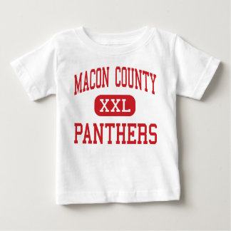 Macon County - Panthers - Middle - Franklin Baby T-Shirt