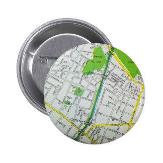 Macon, GA Vintage Map 2 Inch Round Button