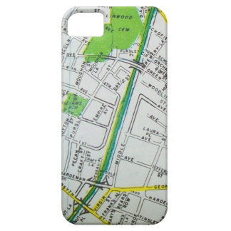 Macon, GA Vintage Map Case For The iPhone 5