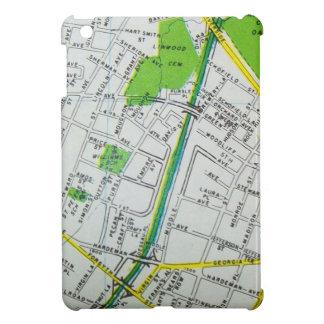 Macon, GA Vintage Map iPad Mini Cover