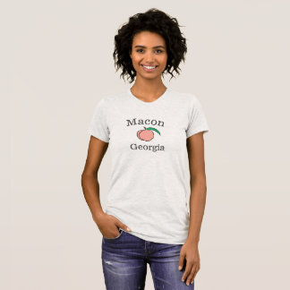 Macon Georgia Peach T-Shirt for women