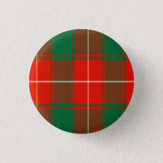 Macphee Scottish Tartan 1 Inch Round Button