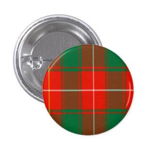 Macphee Scottish Tartan 1 Inch Round Button