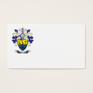 MacPherson Family Crest Coat of Arms Business Card