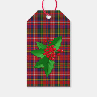 MacPherson Tartan Plaid Christmas Gift Tags Pack Of Gift Tags
