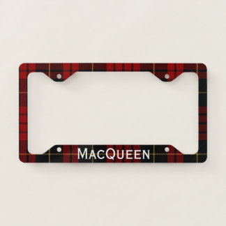 MacQueen Plaid License Plate Frame