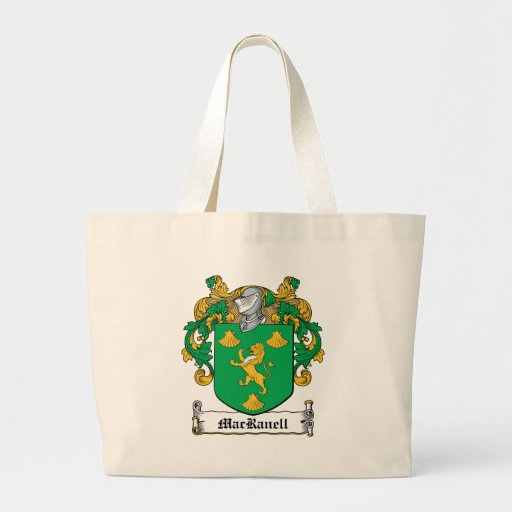 MacRanell Family Crest Canvas Bags