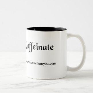 Macro->Caffeinate Mug - Customized