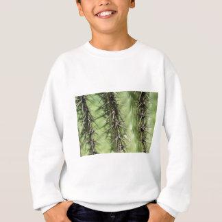 macro close up of cactus thorns sweatshirt