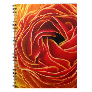 Macro Flower   Flower Fields Carlsbad, CA Spiral Notebook