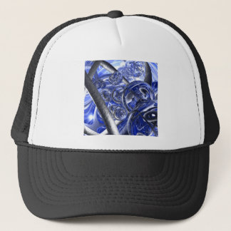 Macro Glass And Steel Bands Trucker Hat