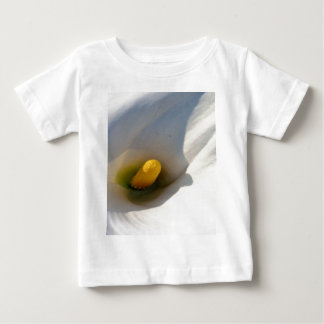 Macro of A Calla Lily With Shadows Baby T-Shirt