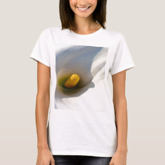 Macro of A Calla Lily With Shadows T-Shirt