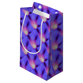 Macro of A Royal Purple Ipomoea Flower Small Gift Bag