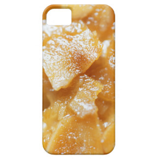 Macro of almond splitters on a cake iPhone 5 cases