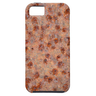 Macro photo of a rusty iron sheet. iPhone 5 cover