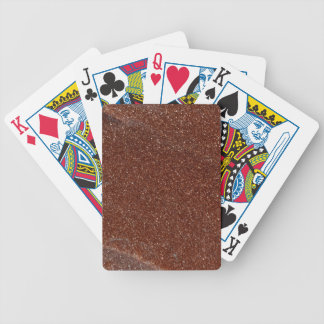 Macro photo of Goldstone glass Bicycle Playing Cards