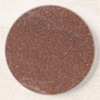 Macro photo of Goldstone glass Coaster