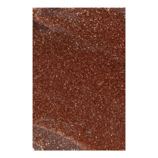 Macro photo of Goldstone glass Stationery