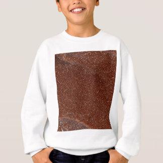 Macro photo of Goldstone glass Sweatshirt