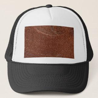 Macro photo of Goldstone glass Trucker Hat