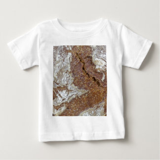 Macro photo of the surface of brown bread from Ger Baby T-Shirt