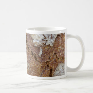 Macro photo of the surface of brown bread from Ger Coffee Mug