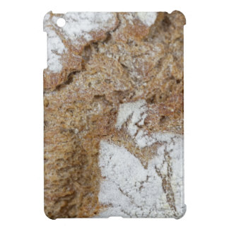 Macro photo of the surface of brown bread iPad mini cover