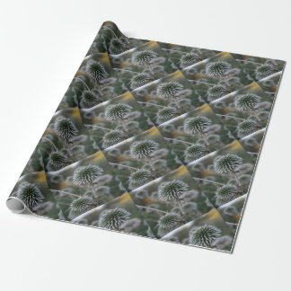 Macro Seed Head of Round Headed Garlic Wrapping Paper