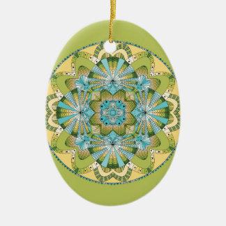 Macro shot of callas ceramic ornament