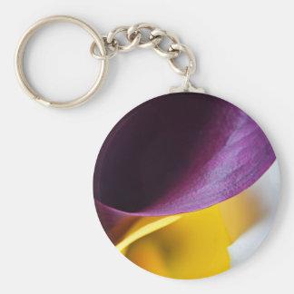 Macro shot of callas keychain