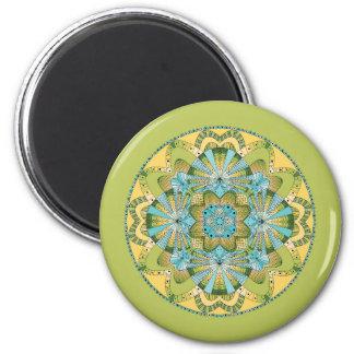 Macro shot of callas magnet
