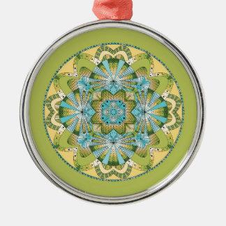 Macro shot of callas metal ornament