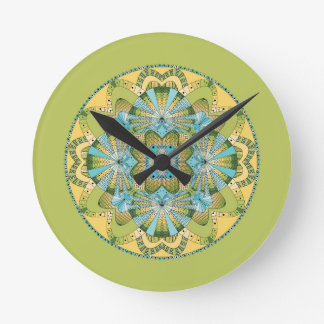 Macro shot of callas round clock