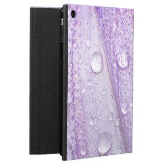 Macro Spring Violet Flower Design iPad Air Cases