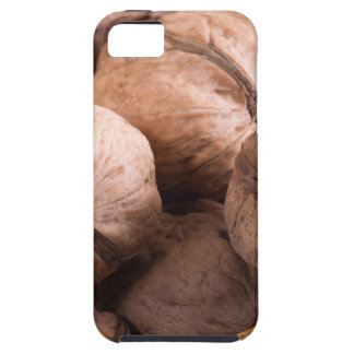 Macro view of a group of walnuts iPhone 5 case