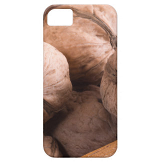 Macro view of a group of walnuts iPhone 5 covers