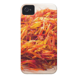 Macro view on fragrant saffron closeup Case-Mate iPhone 4 case
