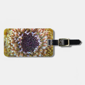 Macro Yellow Flower Center Bag Tag