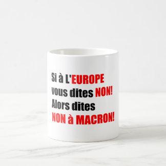 MACRON = Mondialisation Mug 1